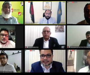 Virtual Discussion on Current Reforms in Ease of Doing Business in Bangladesh and Preparedness for the Future
