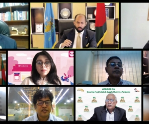 """Webinar on """"ensuring food safety and supply chain in a pandemic"""""""
