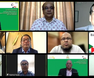 Virtual Dialogue on Challenges and way forward on export diversification of Bangladesh upon LDC graduation