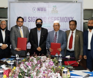 DCCI inked MoU with Northern University Bangladesh