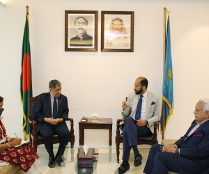 Meeting with Algerian Ambassador