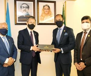 Meeting with South Korean Ambassador